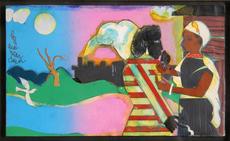 Romare Howard BEARDEN - Painting - Memories 2