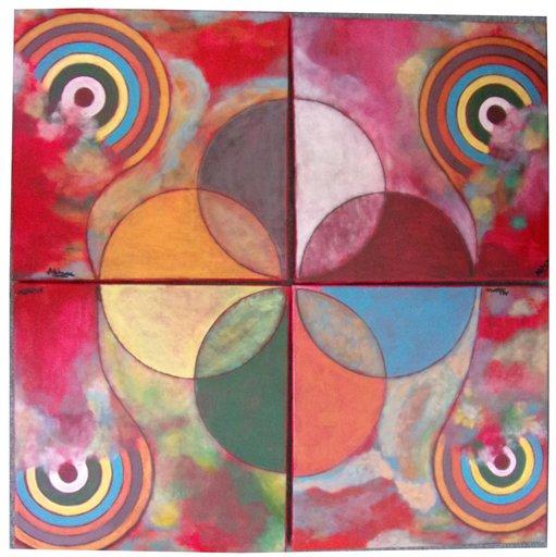 ATCHAMA - Painting - unité de la conscience
