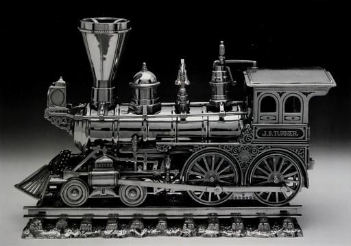 杰夫·昆斯 - 版画 - Jim Beam - JB Turner Engine