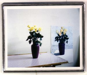 David HOCKNEY, Roses for Mother