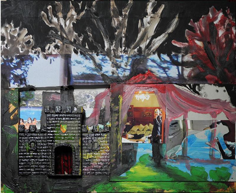 Stéphane PENCREAC'H - Painting - Hôtel 1 - Château