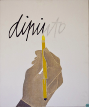 Emilio TADINI - Pintura - Dipinto