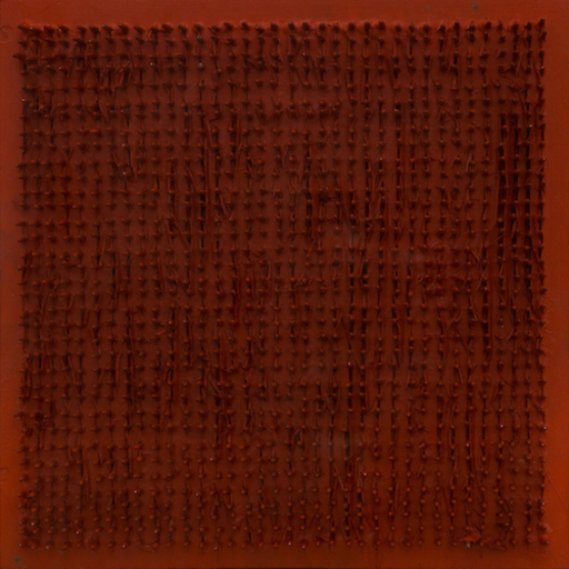 Bernard AUBERTIN - Pittura - Tableau Clous