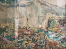 Raoul DUFY - Dessin-Aquarelle - View of Honfleur
