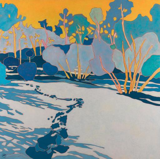 Marie-Pierre AUTONNE - Painting - Suivre le chemin