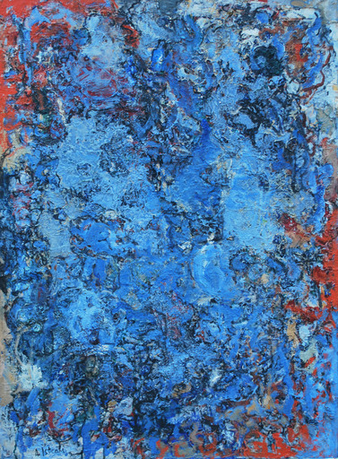 Alexandre ISTRATI - 绘画 - Composition, 1955