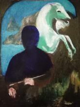 "Enrico GARFF - Painting - ""The Painter's Brush"""