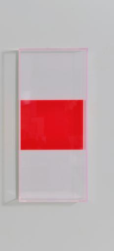 Regine SCHUMANN - Sculpture-Volume - Colormirror rainbow triple miami white red