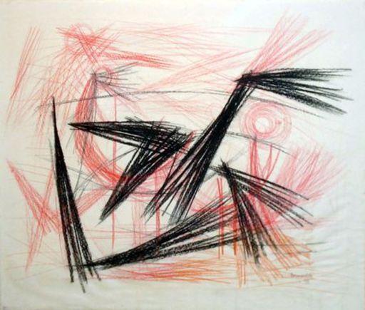 CORNEILLE - Print-Multiple - La danse des oiseaux