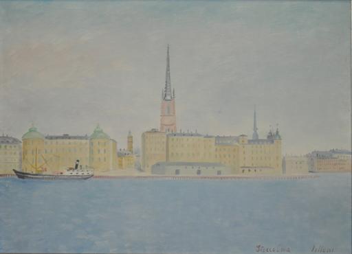 Umberto LILLONI - Pintura - Stoccolma
