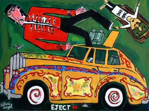 Richard BOIGEOL - Gemälde - Lennon