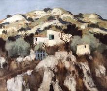 Eugène BABOULENE - Painting - Le cabanon