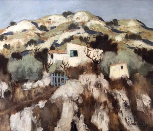Eugène BABOULENE - Peinture - Le cabanon