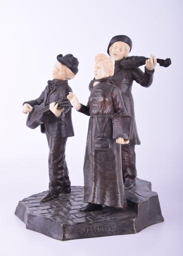 Dominique ALONZO - Sculpture-Volume - Untitled (Three Musicians)