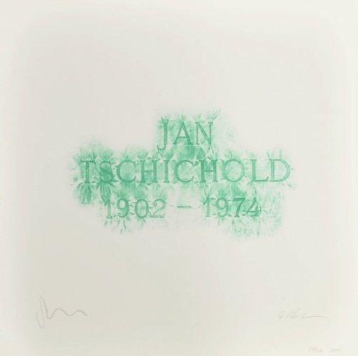 Scott MYLES - Print-Multiple - A History of Type Design / Jan Tschichold, 1902-1974 (Berzon