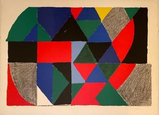 Sonia DELAUNAY - Print-Multiple - SCOTTISCH ou POLYPHONIE