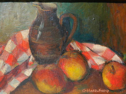 Louise-Jeanne COTTARD-FOSSEY - Painting - NATURE MORTE