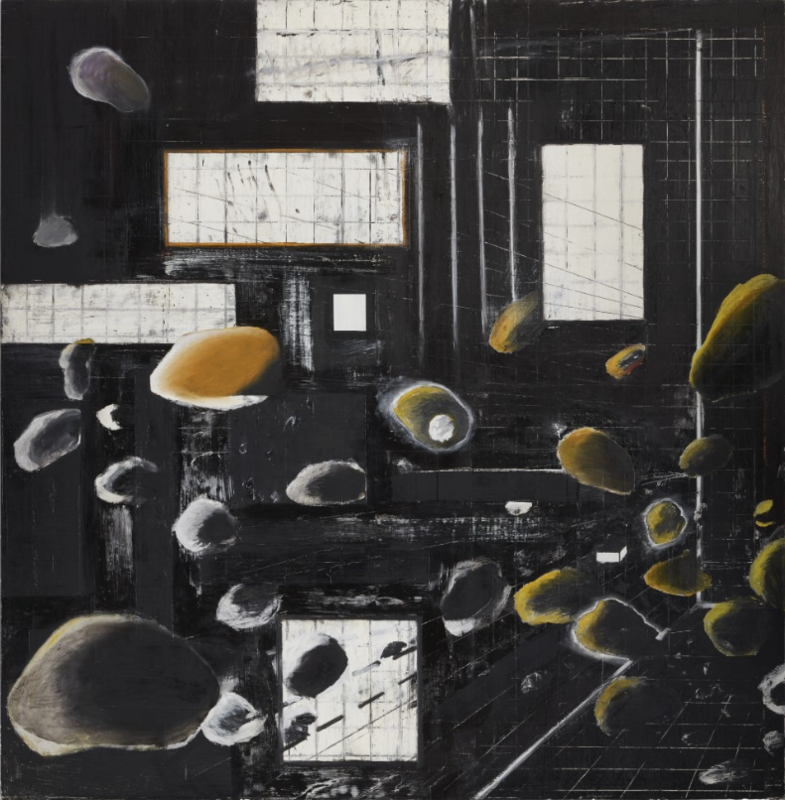 Ross BLECKNER - Peinture - Gravity of matters