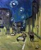 Valeriy NESTEROV - Pintura - Lubyanskiy lane. Moscow