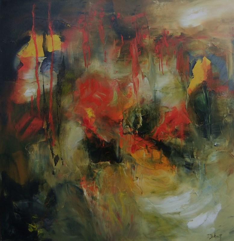 Josette DUBOST - Pittura - Les Profondeurs