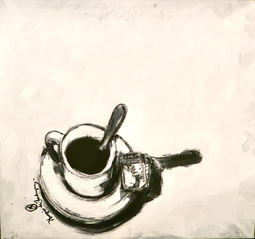 Marquéz DE JADRAQUE - Painting - Wite Blanc
