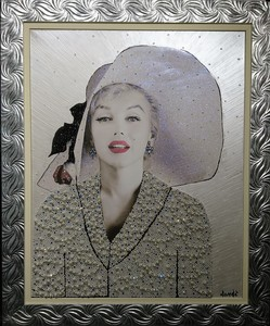 Daniele DONDE - Peinture - Marilyn Monroe
