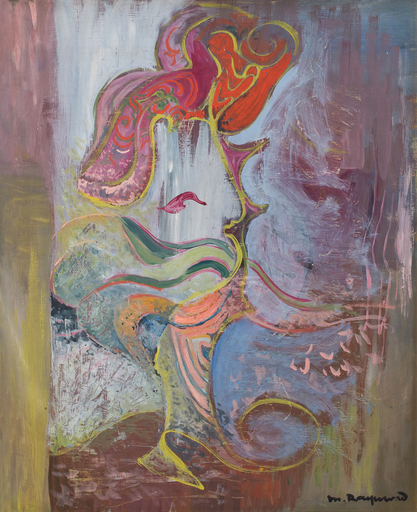 Marie RAYMOND - Peinture - Paysage abstrait