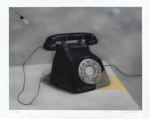 张晓刚 - 版画 - Telephone