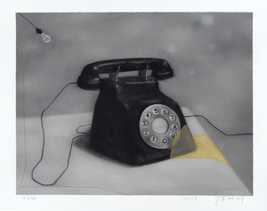 ZHANG Xiaogang - Estampe-Multiple - Telephone
