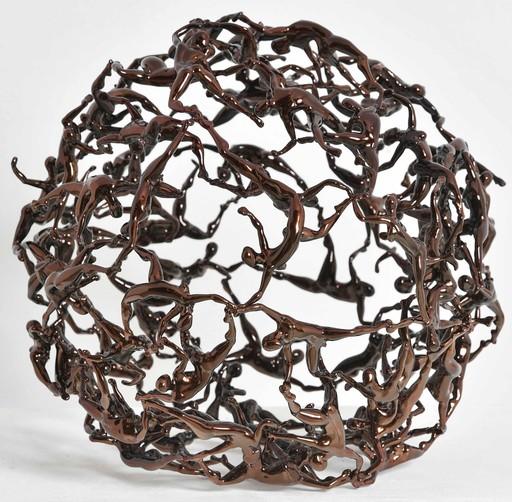 Mauro BONAVENTURA - Sculpture-Volume - Sfera Bronzo