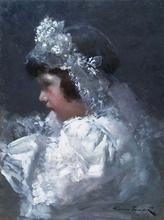 Alessio ISSUPOFF - Painting -  Prima Comunione