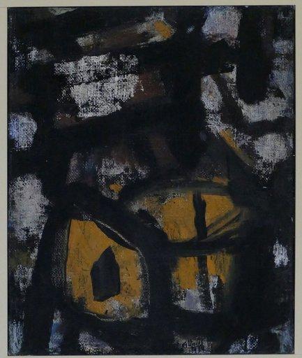 Guido LLINAS - Painting - Pintura Negra