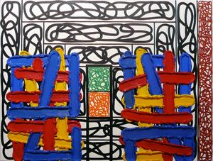 Jonathan LASKER - Painting - Expression as object