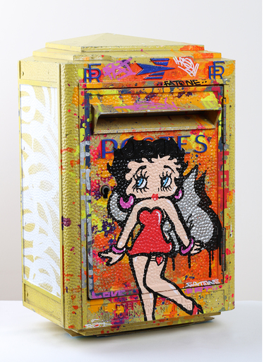 FAT - Painting - BETTY BOOP