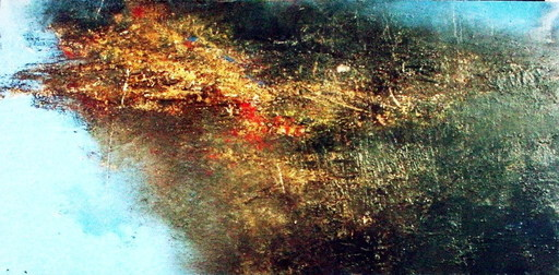 Antonio PEDRETTI - Painting - Palude - Scorcio