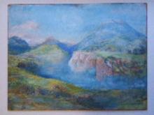 Colin Campbell COOPER - Pintura - California Landscape