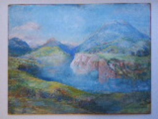 Colin Campbell COOPER - Gemälde - California Landscape