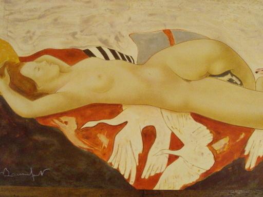 """Alain BONNEFOIT - 版画 - """"La plénitude""""1990."""