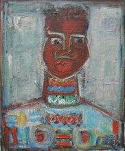 Pinchas ABRAMOVICH - Gemälde - African Woman