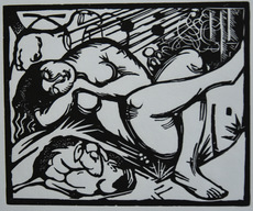 Franz MARC - Print-Multiple - Schlafende Hirtin - Sleeping Shepherdess