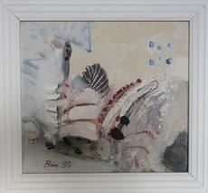 Vaclav BENEDIKT - Pintura - White Waterfall