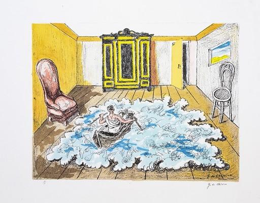 乔治•德•基里科 - 版画 - Giorgio De Chirico (1888-1978 ) Il ritorno di Ebdomero, 1968