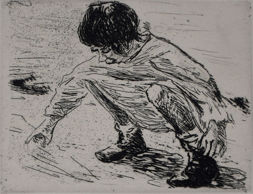 Max LIEBERMANN - Print-Multiple - Playing Child | Spielendes Kind