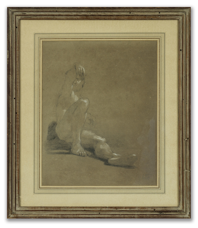 William ETTY - Drawing-Watercolor - Academic Study