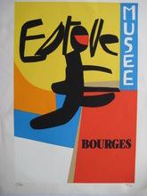 Maurice ESTEVE - Estampe-Multiple - LITHOGRAPHIE SIGNÉE AU CRAYON NUM/200 HANDSIGNED LITHOGRAPH