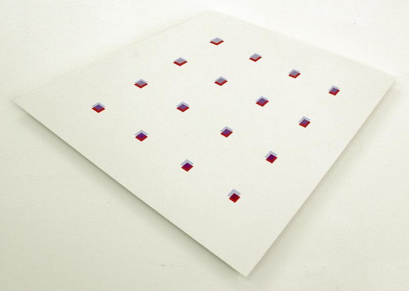 Hans-Jörg GLATTFELDER - Peinture - Gradierung aus sieben Transparenten