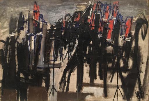 Marie Christine TREINEN - Gemälde - Composition, 1954