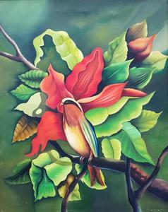 Clemente SEGRERA - Pintura - FLEURS
