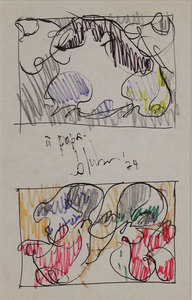 Norman BLUHM - Drawing-Watercolor - Untitled