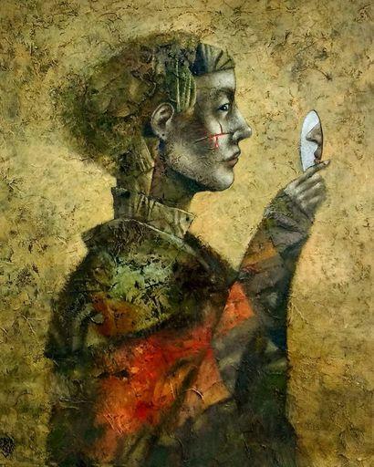 Bobur ISMOILOV - Peinture - Orleans First Sacrifice